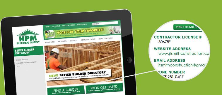 HPM Better Builder JT Smith Construction
